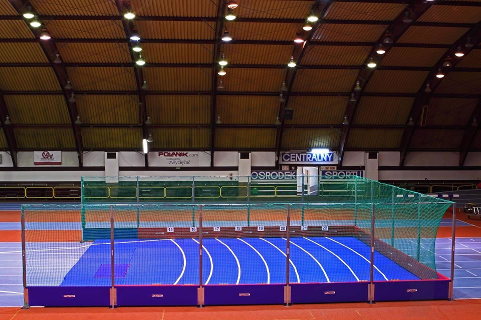 Competition Indoor Safety Barrier 3 M Height Polanik
