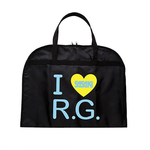 BORSA PORTA BODY I LOVE R.G. COLORE NERO/CELESTE Sasaki