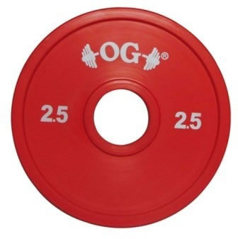 DISCO GOMMATO WEIGHTLIFTING KG.25 Sport Italia