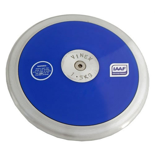 DISCO IN PLASTICA LO-SPIN KG.1,500 IAAF Vinex