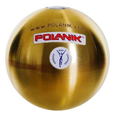 PESO IN OTTONE COMP. POLANIK MM.110 KG.5,000 IAAF