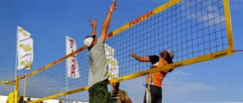 RETE BEACH VOLLEY PROFESSIONALE Sport Italia