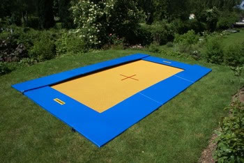 TRAMPOLINO GROUND ADVENTURE CM.300X200 Eurotramp