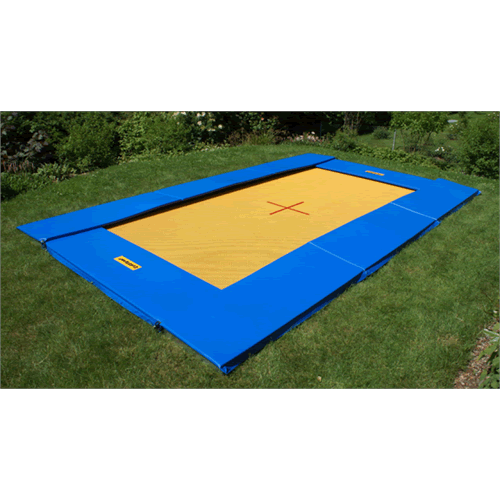 TRAMPOLINO GROUND MASTER  CM.464X281 Eurotramp