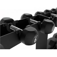 PAIR OF RUBBER DUMBBELLS Amaya
